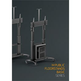 M Public Floorstands Basic Catalogue